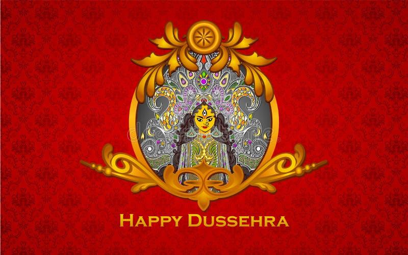 Durga Puja stock illustrationer