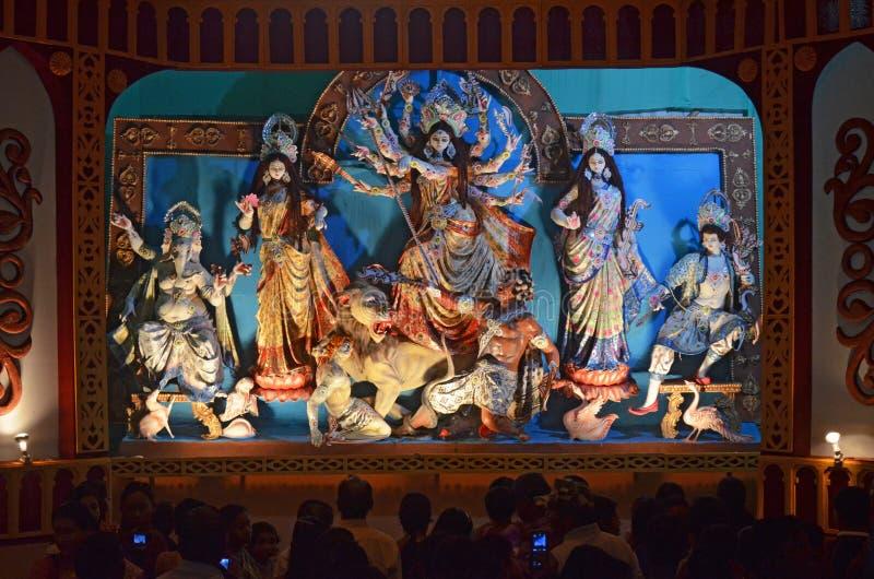 Durga Puja royalty-vrije stock afbeelding