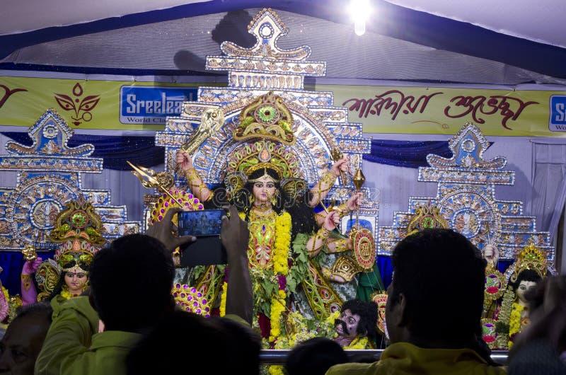 Durga Puja foto de archivo libre de regalías