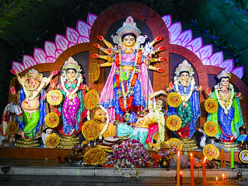 Maa Durga picture 5 stock image