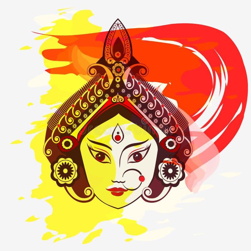 Durga, Saraswati, ilustração de Lakshmi ilustração royalty free