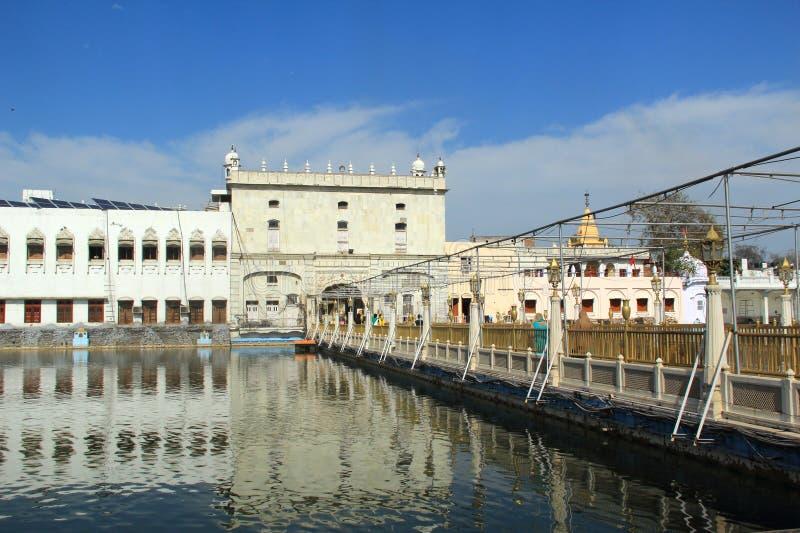 Durga Temple In Amritsar. stock photos
