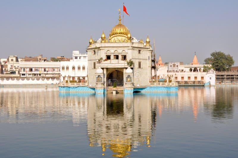 Durgiana Mandir, Amritsar (India) fotos de stock royalty free