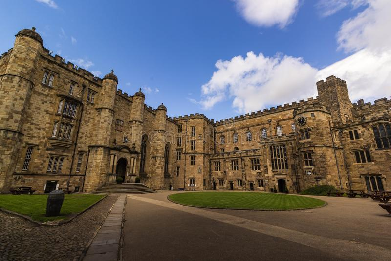 Durham Castle στοκ εικόνα με δικαίωμα ελεύθερης χρήσης