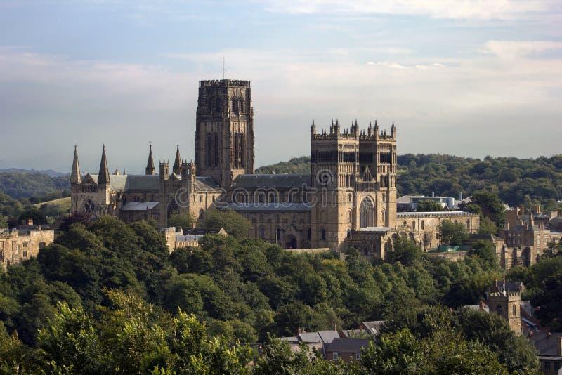 Durham domkyrka royaltyfria bilder