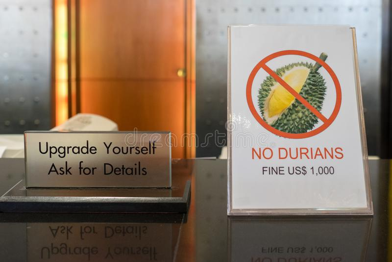 Durian - τα απαγορευμένα φρούτα στοκ φωτογραφίες με δικαίωμα ελεύθερης χρήσης