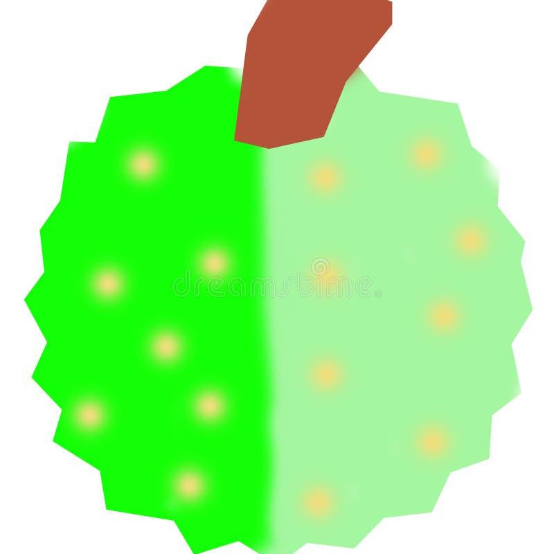 Durian ilustração stock