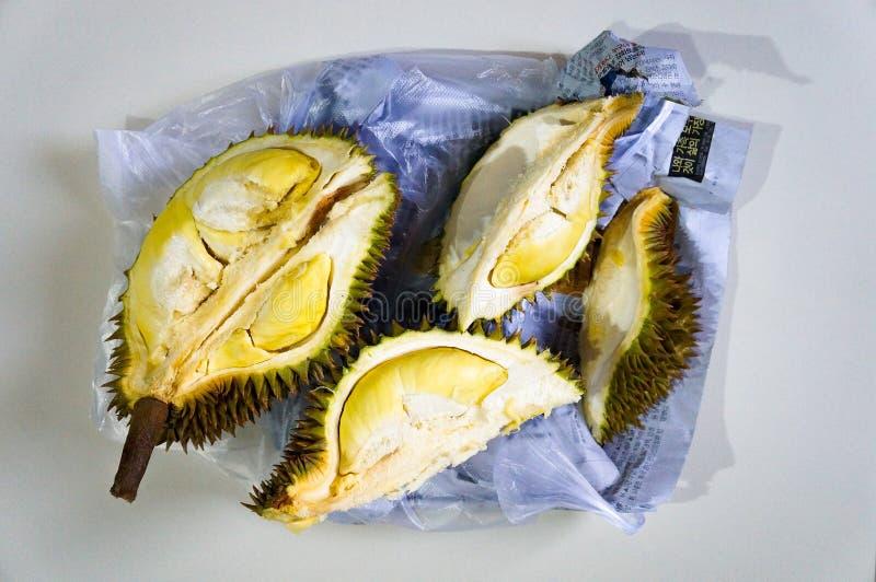 Durian, de koning van fruit royalty-vrije stock afbeeldingen