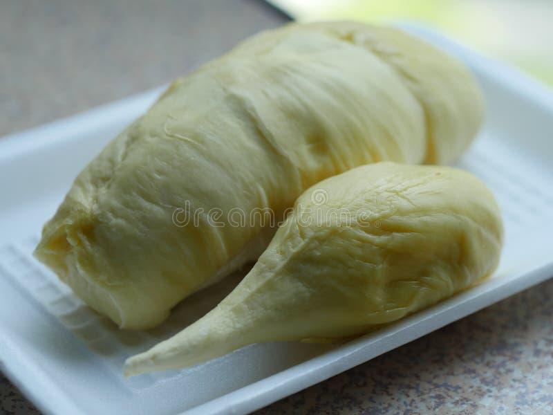 Durian de koning van vruchten in Thailand royalty-vrije stock afbeeldingen