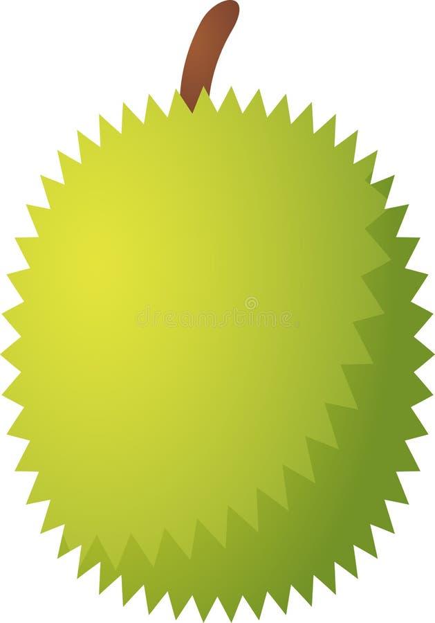 Durian fruit icon royalty free illustration