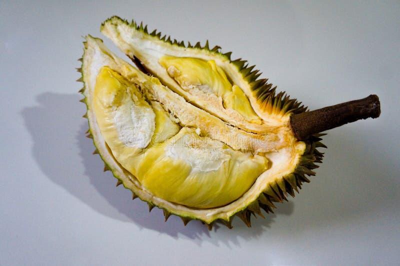 Durian, il re di frutta fotografie stock
