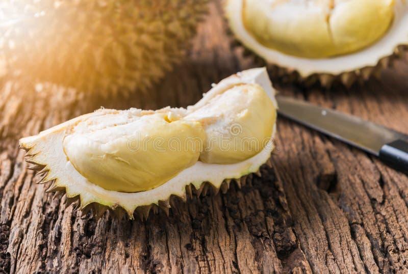 Durian, Koning van vruchten royalty-vrije stock afbeelding