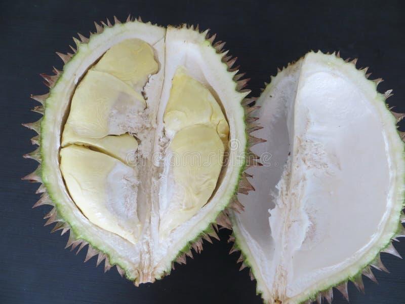 Durian konungen av frukter royaltyfria foton