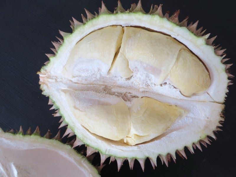 Durian konungen av frukter royaltyfria bilder