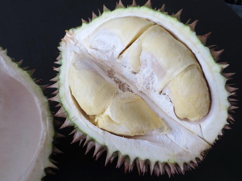 Durian konungen av frukter arkivbilder