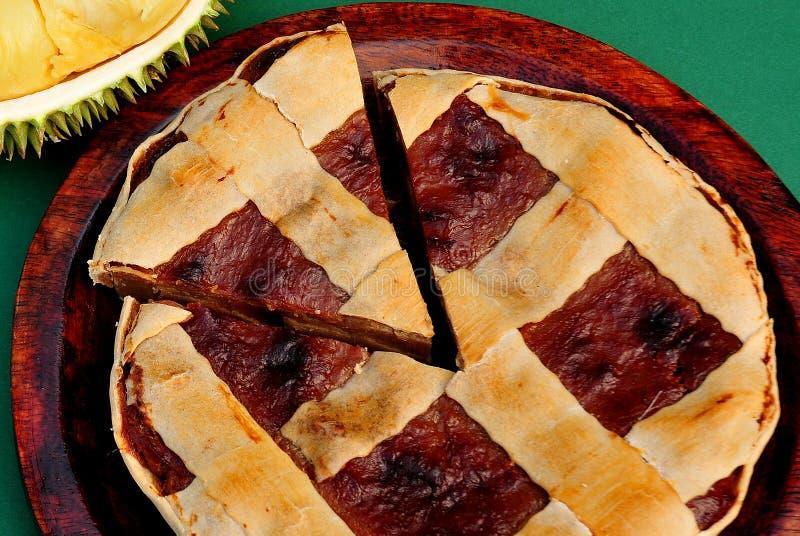 Durian Pie royalty free stock photo