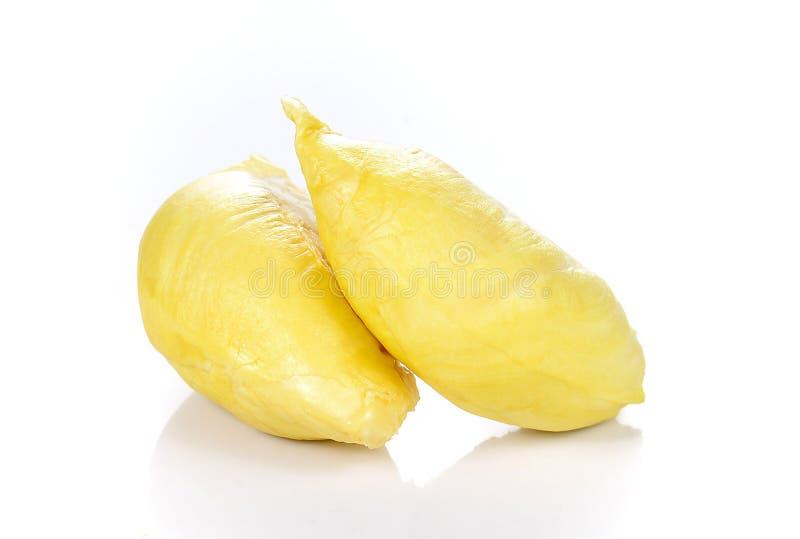 Durian, roi des fruits sur le fond blanc photo libre de droits