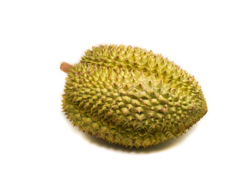 Durian sur le blanc photos stock