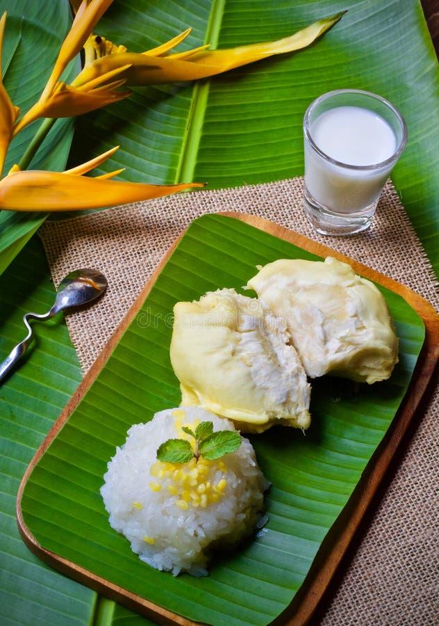 Durianreis-Nachtischbonbon lizenzfreie stockfotos