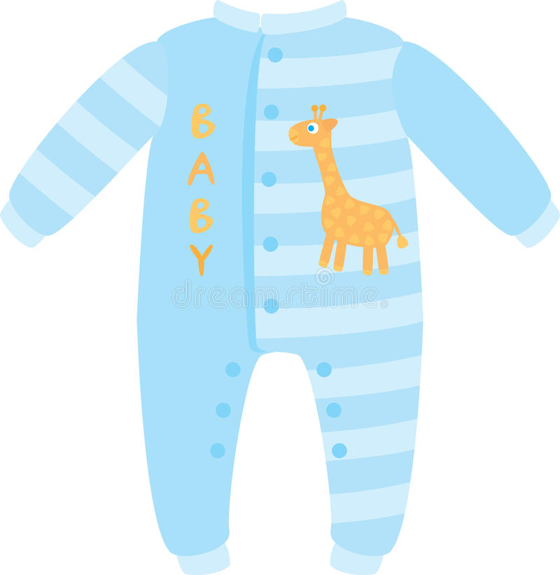 Durmiente del bebé ilustración del vector