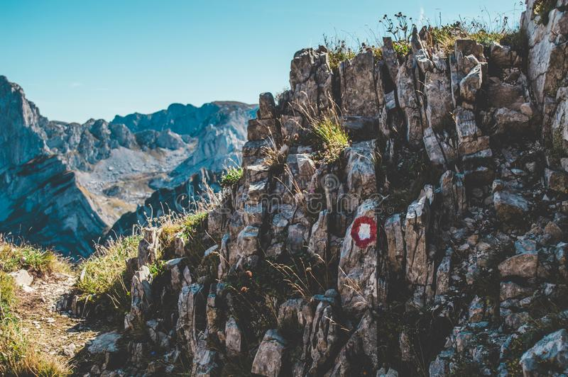Durmitor-Nationalpark lizenzfreies stockfoto