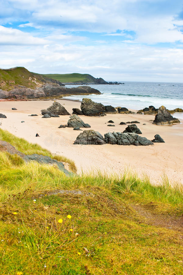 Free Durness Beach - Scotland Stock Images - 16509694