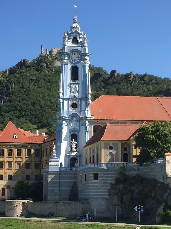 Durnstein Áustria Danúbio fotos de stock