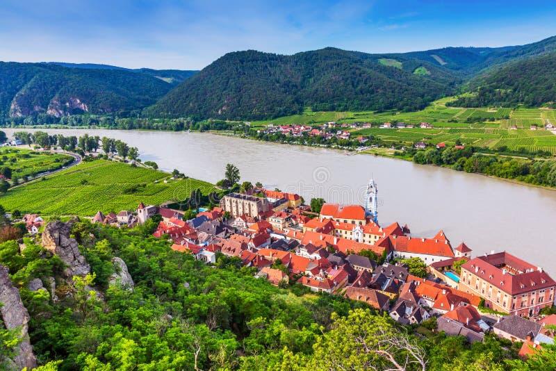 Durnstein, Αυστρία στοκ φωτογραφίες