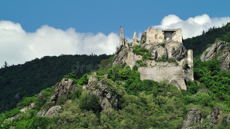 Durnstein Castle, Wachau, Austria royalty free stock photo