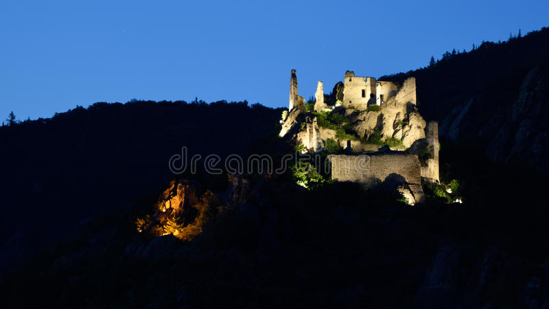 Durnstein Castle, Wachau, Austria royalty free stock images