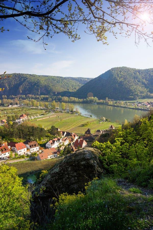 Durnstein, vallée de Wachau l'autriche image libre de droits