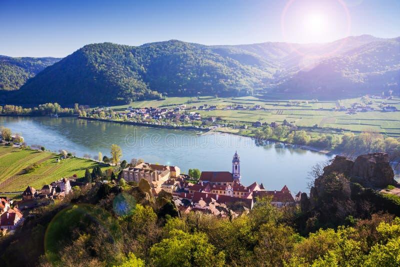Durnstein, Wachau-Tal Österreich lizenzfreies stockbild