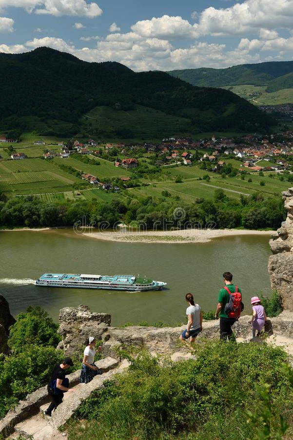 Durnstein, Wachau, ?ustria foto de stock