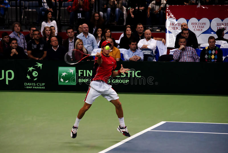 Download Dusan Lajovic-5 editorial photo. Image of sport, match - 35305166