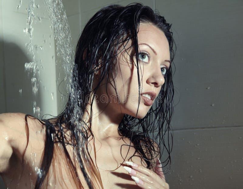 dusch arkivfoto