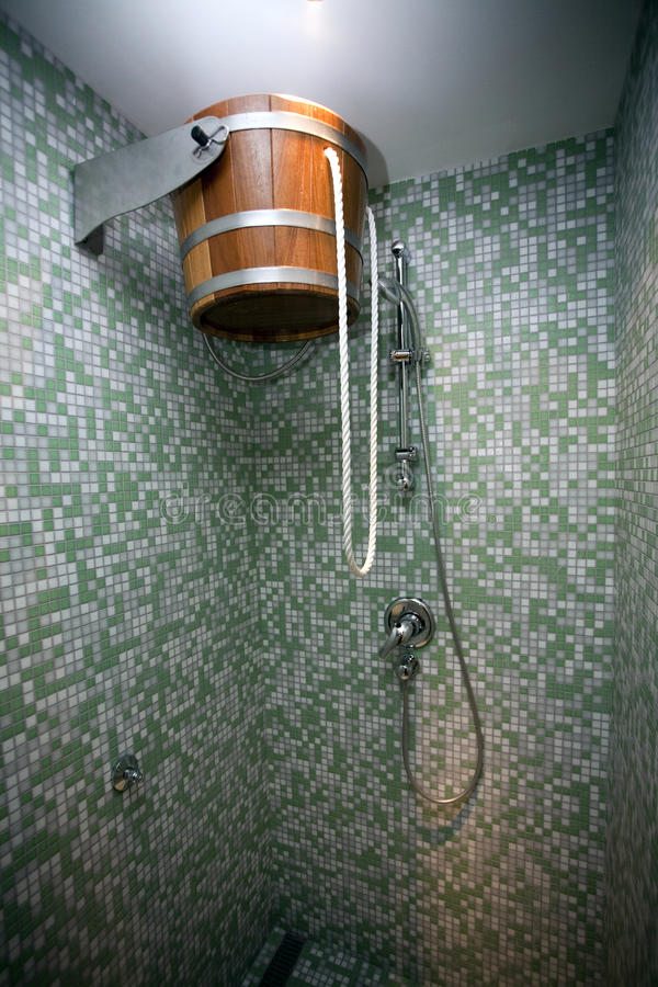 Dusche stockfotografie