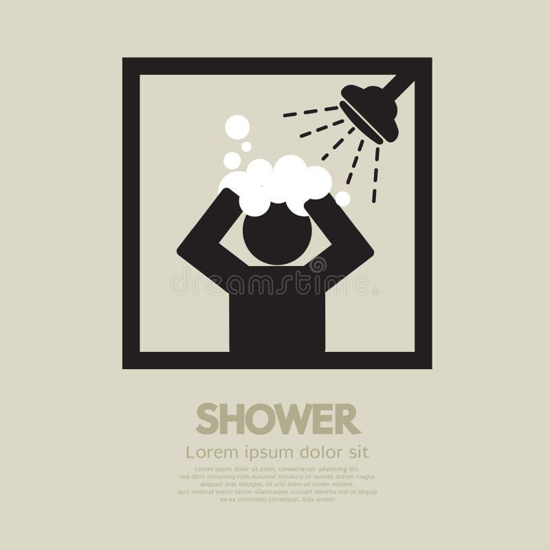 Dusche lizenzfreie abbildung