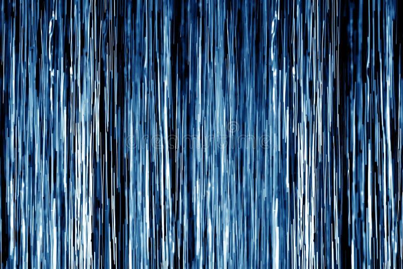Dusche des blauen Wassers lizenzfreie abbildung