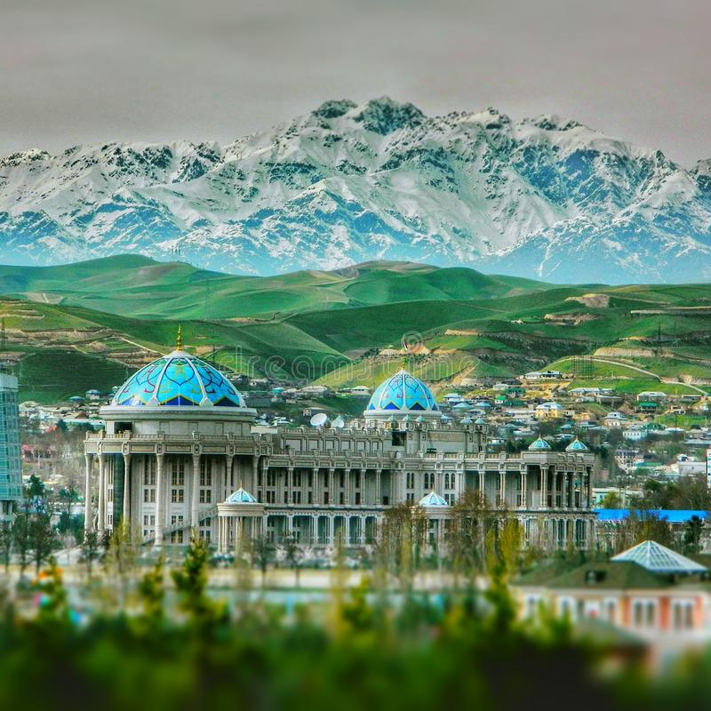 Dushanbe city royalty free stock images