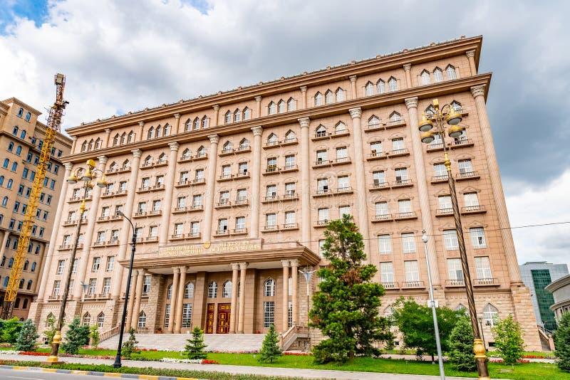 Dushanbe Ministro degli Affari esteri 24 fotografia stock