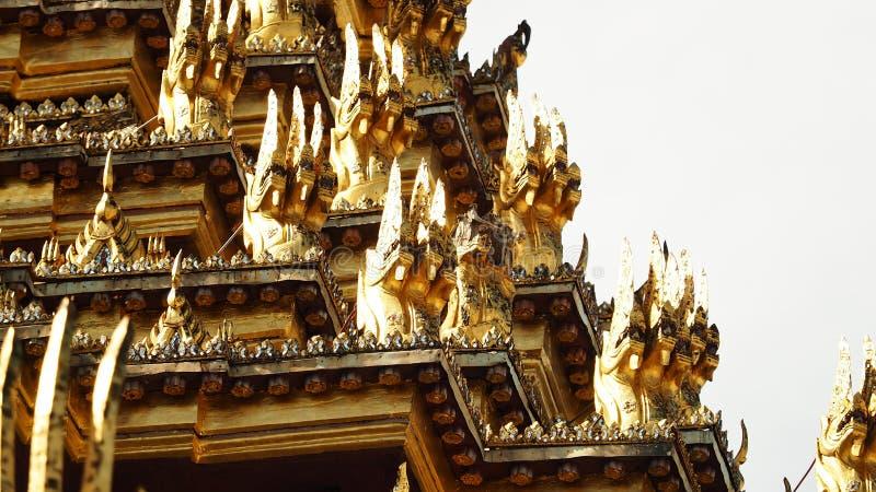 Dusit Maha Prasat Throne Hall stock foto's