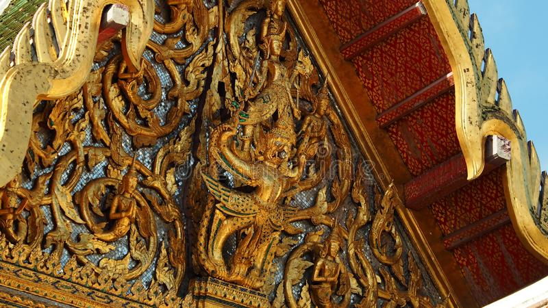 Dusit Maha Prasat Throne Hall stock afbeeldingen