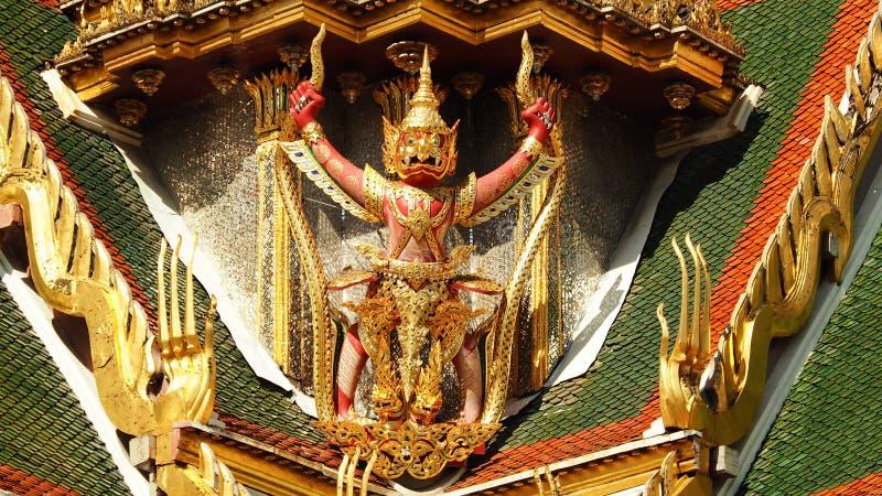 Dusit Maha Prasat Throne Hall royalty-vrije stock afbeelding