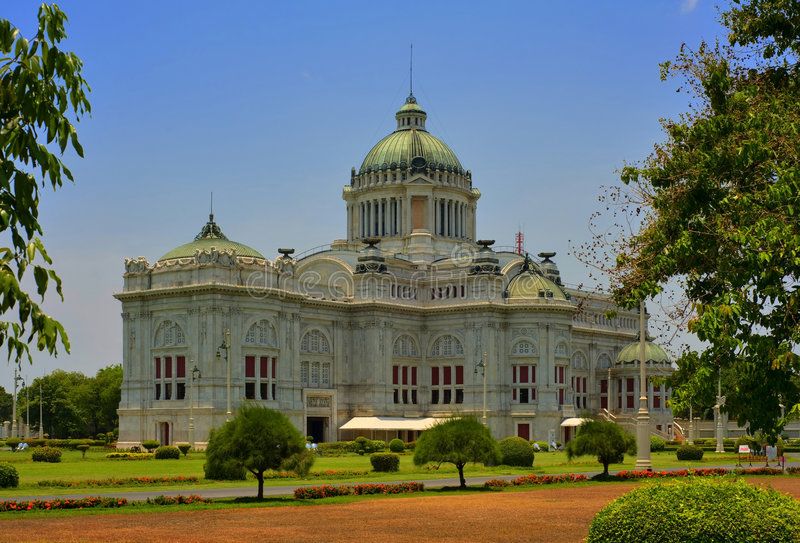 Download Dusit Palace in Bangkok stock photo. Image of asian, cityscape - 9056752