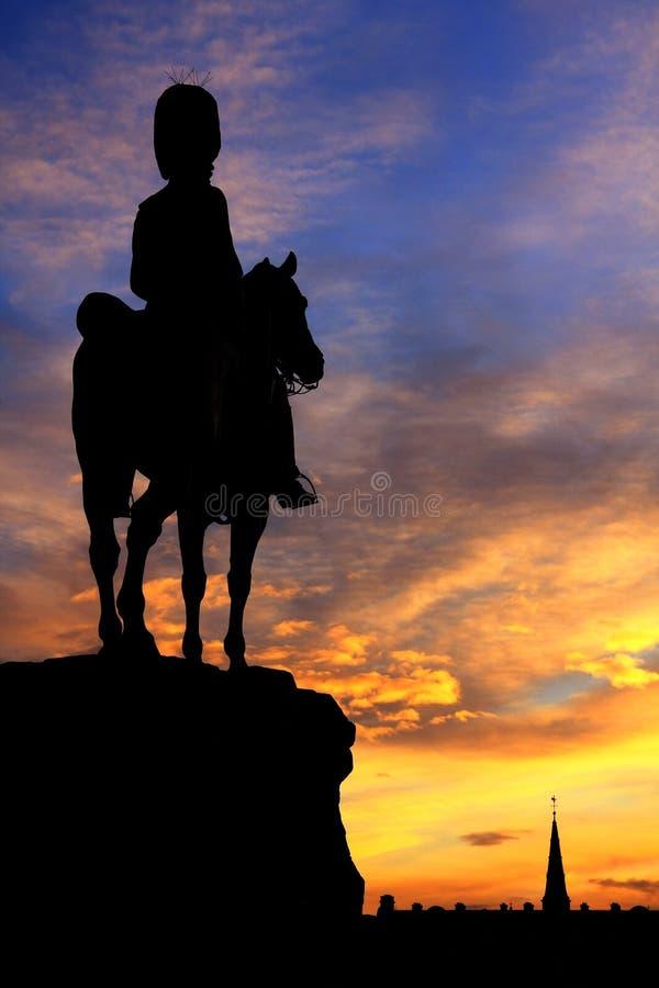 dusk Εδιμβούργο στοκ εικόνα με δικαίωμα ελεύθερης χρήσης