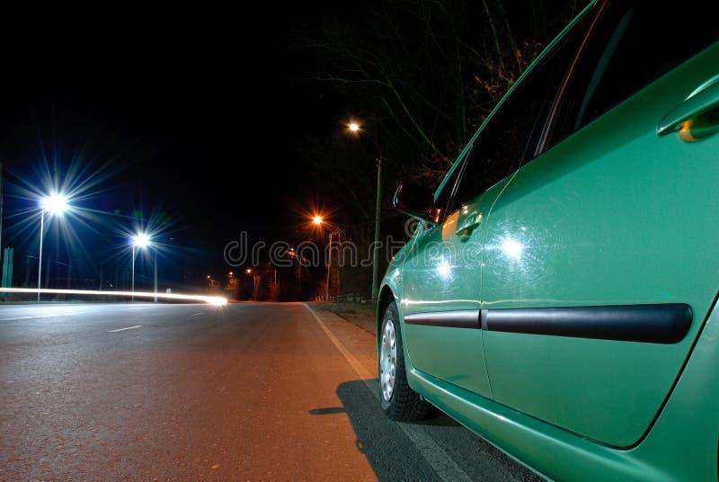dusk οδική όψη στοκ φωτογραφίες με δικαίωμα ελεύθερης χρήσης