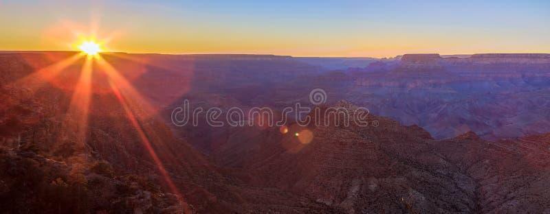 dusk φαραγγιών μεγάλο μεγαλ& στοκ εικόνες