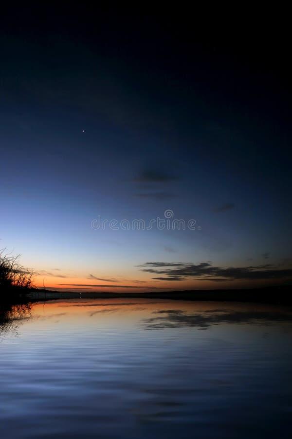 Download Dusk stock photo. Image of earth, serenity, backdrop, lake - 1047846