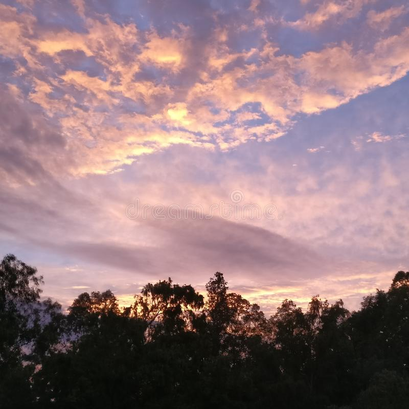 dusk στοκ εικόνες με δικαίωμα ελεύθερης χρήσης