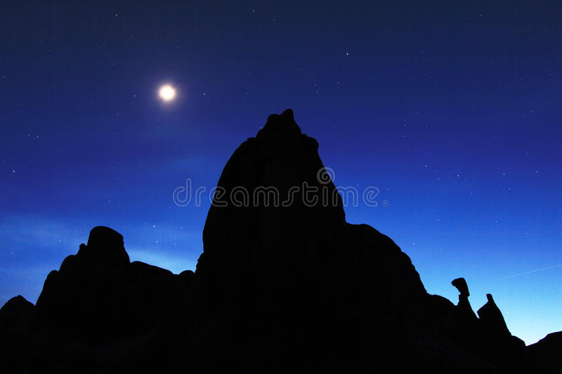 Download Dusk in Arches stock photo. Image of arch, mountain, backlit - 14312984